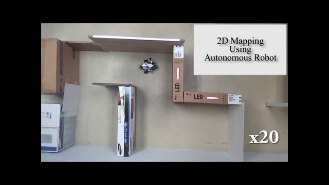 Room Mapper 2d indoor mapping using an autonomous robot - youtube
