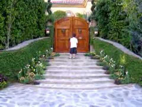 Darson Visits Ozzy Osbourne Residence - Beverly Hills, CA