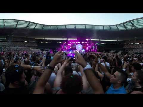 Coldplay Live 2017@Stade de France, Paris - AHFOD, Yellow, Every teardrop is a waterfall, Scientist