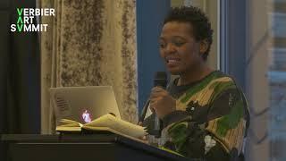 Gabi Ngcobo Talk at the 2019 Verbier Art Summit