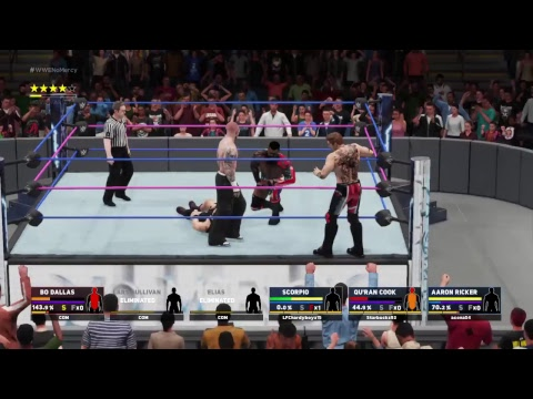 Royal Republic Vs Elias,Lars Sullivan, And Bo Dallas