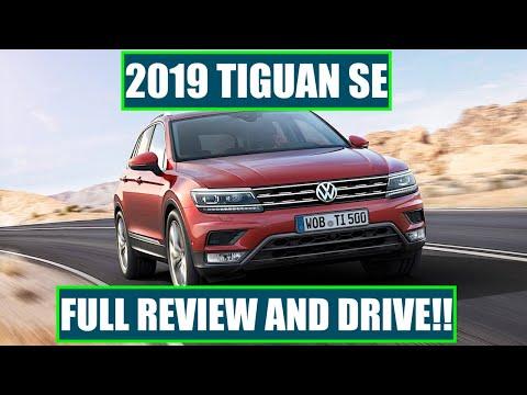 2019 VOLKSWAGEN TIGUAN SE REVIEW!! WE TAKE IT 112 MPH!!