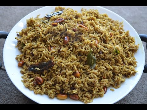 Puli Sadam/Kovil Puliyodharai/Tamarind Rice (Temple Style) - Variety Rice Recipe (in Tamil)