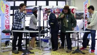 伊豆急オモシロ駅長、FMサルース公開収録,中井精也さんハプニング映像