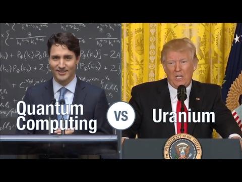 Donald Trump vs Justin Trudeau