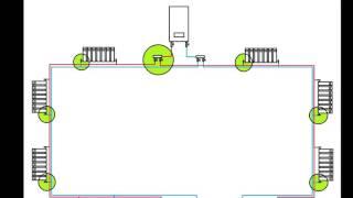 Двухтрубная система отопления, разные схемы (схема Тихельмана)(, 2015-12-21T19:11:18.000Z)