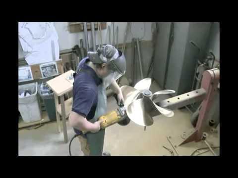 Marine Propeller Fabrication 1