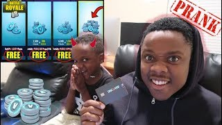 Siah Buys $20,000 VBucks With Moms Credit Card (Gets HEATED)