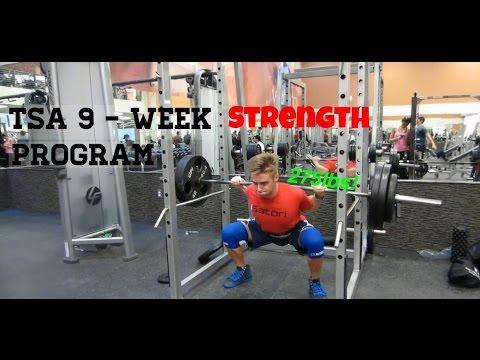 The TSA 9-Week Intermediate Powerlifting Program Overview