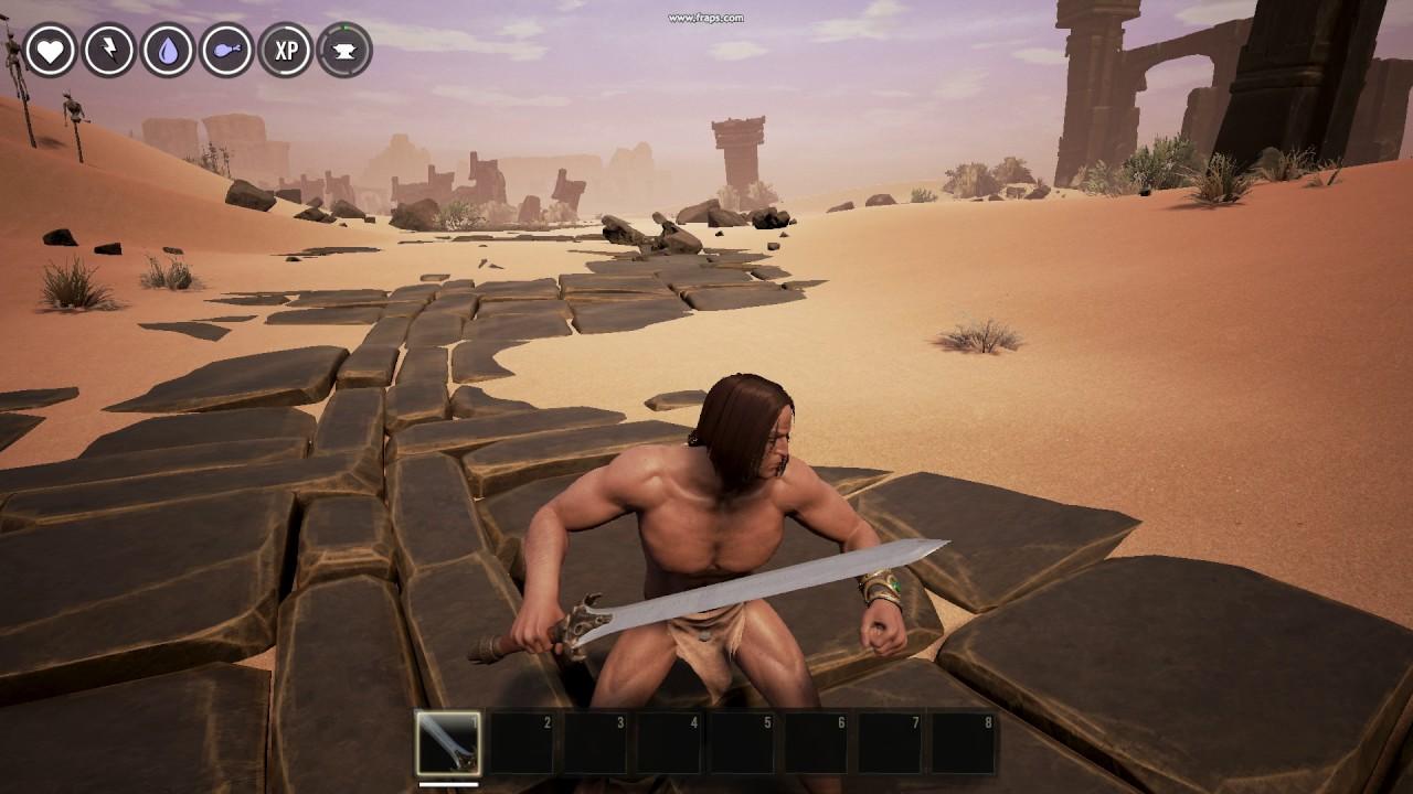 Conan's father's sword mod for Conan Exiles