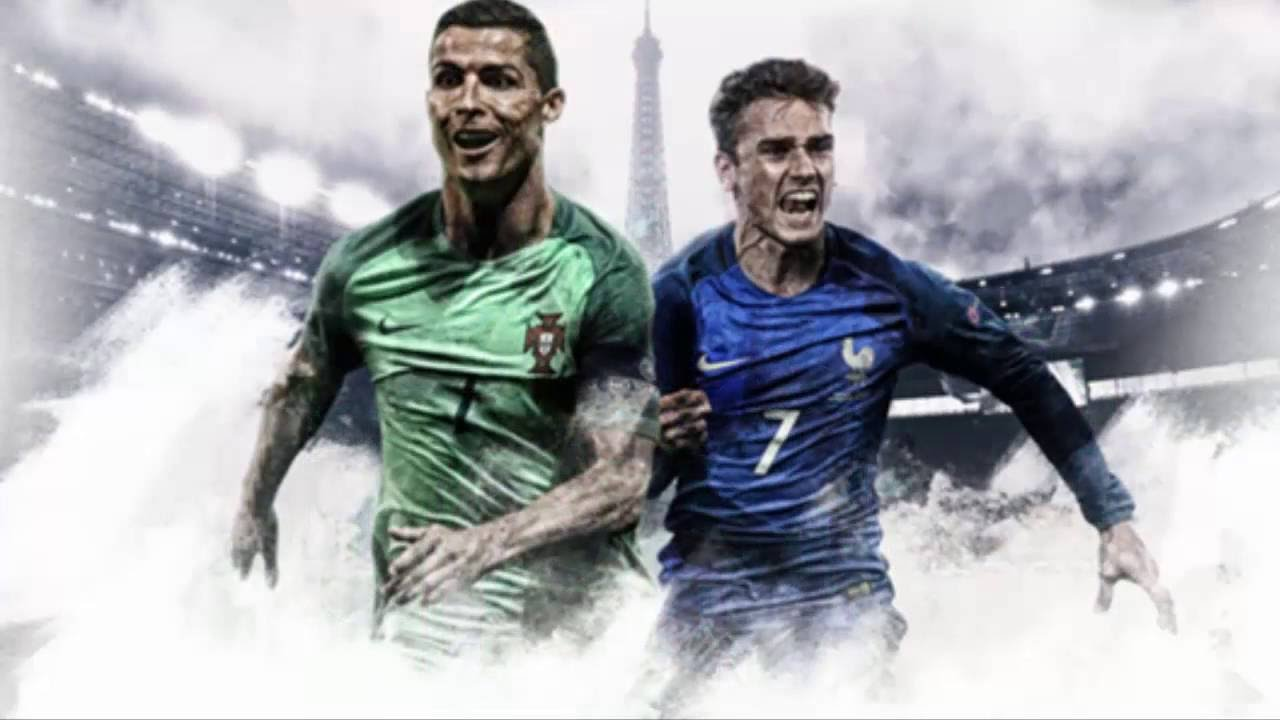 Portugal vs France - Euro Cup Final 2016 Complete Match ...