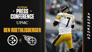 Postgame Press Conference (Week 7 at Tennessee Titans): Ben Roethlisberger