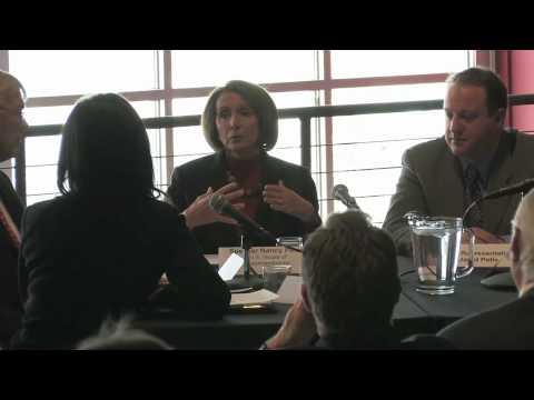 U.S. Speaker of the House Nancy Pelosi visits Broomfield, Colorado