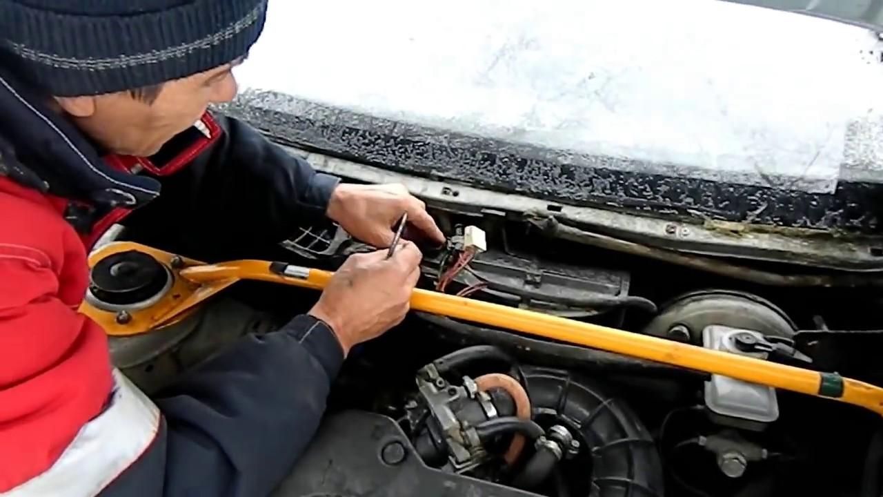 Не работает вентилятор печки (регулятор оборотов) ВАЗ 2110