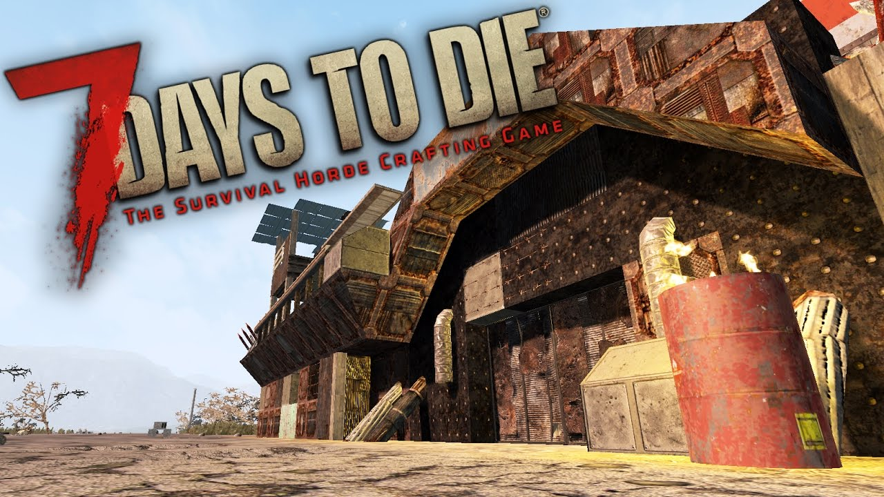 THE FORTRESS  | Let's Play 7 Days to Die Part 3 (7 Days to Die Gameplay - Experimental Alpha 15