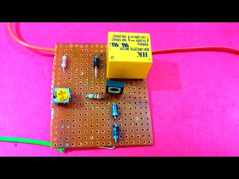 12v Battery Over Charge Protection Circut Youtube