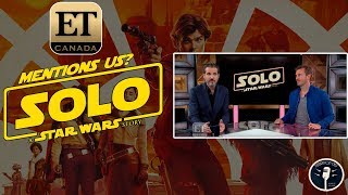 Entertainment Tonight Mentioned Us in Their Star Wars Review?