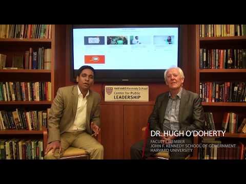 Harvard Professor Hugh O'Doherty on the potential of online leadership education