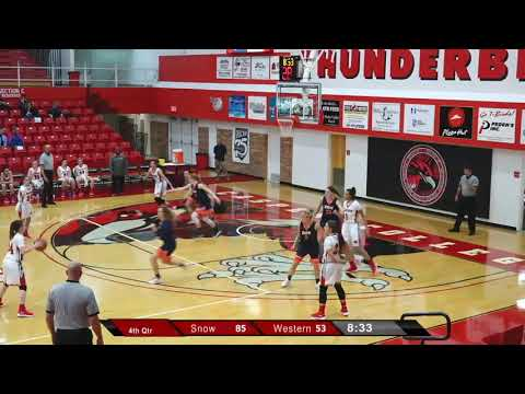 Nenna Lindstrom # 24 Highlights 2017 Western Wyoming Community College women's basketball team