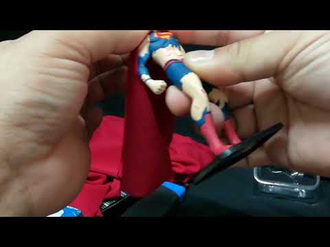 Death of Superman Blu-ray DVD digital copy  cape customized custom cape