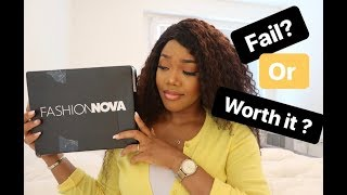 FASHION NOVA HAUL - FIRST IMPRESSIONS⎪Is It Really Worth The Hype?