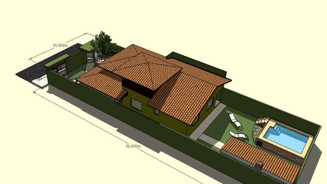 Desenho da casa em 3d s z youtube for Casa 3d gratis