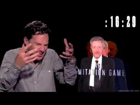 Камбербэтч за минуту спародировал 11 кинозвезд