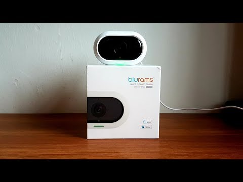 Blurams Outdoor Pro Security Camera - REVIEW & UNBOXING