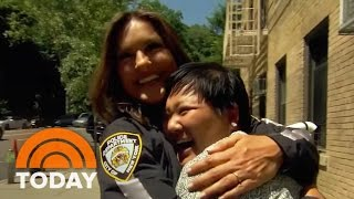 Hoda Kotb Surprises Cancer Survivor With Role On 'SVU' | TODAY