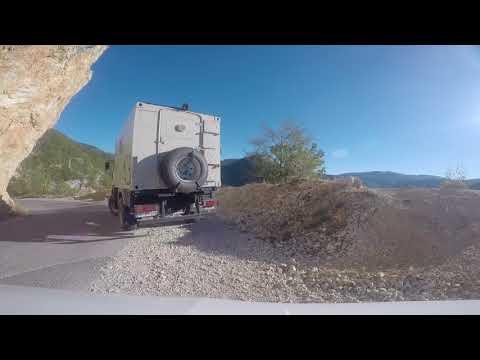 Roadtrip Montenegro mit MAN L2000 4x4