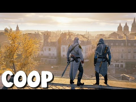 Assassin's Creed Unity - Coop avec Azzdingue #01