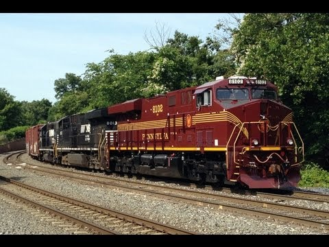 Pennsylvania Heritage Unit NS 8102 on 39G, NS 956 OCS, Spirits, Lease Power, and More! 6/8 - 6/9/12