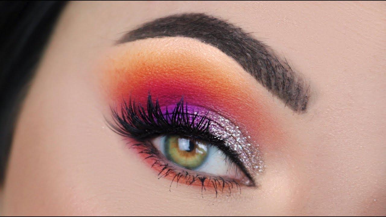 James Charles Palette Makeup Tutorial Nye Makeup Youtube