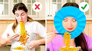 WE BET You're Eaтing NOODLES Wrong!🍝 SMART food hacks and gadgets for the whole family