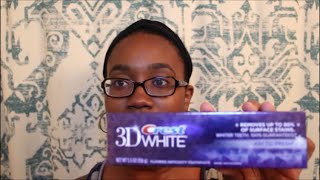 Crest 3D Whitening Toothpaste Review(, 2015-06-29T04:00:00.000Z)