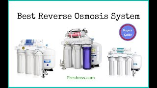 Best Reverse Osmosis System Reviews (2019 Buyers Guide)