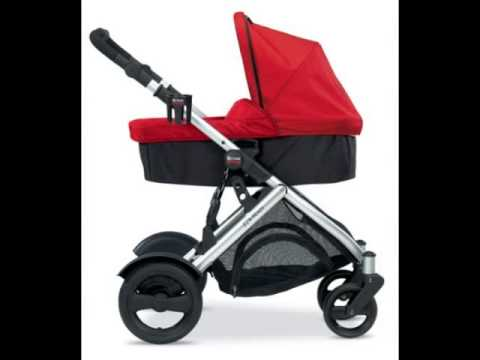 Britax B-Ready Stroller Bassinet, Red from Britax USA - YouTube