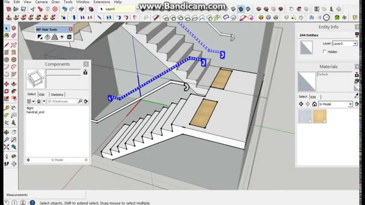 Sketchup Extension Mf Stair Tools Youtube