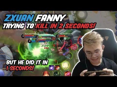 Zxuan Fanny - Kill Enemy in 2 Seconds!