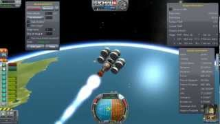 Kerbal Space Program - Interplanetary ship with just jet and nuclear engines