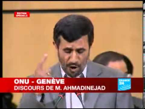Mahmoud Ahmadinejad fait gémir l'ONU