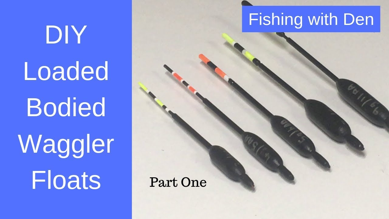 New Loaded Fishing Waggler Floats 8 Different Sizes