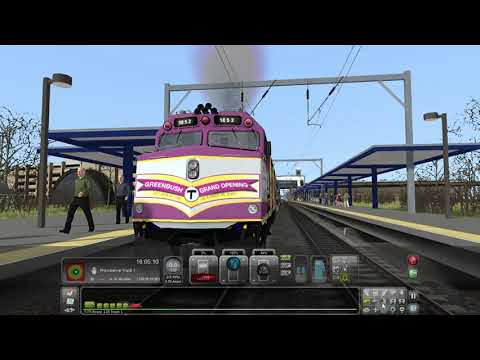 Amtrak, CSX and MBTA Trains at Rt 128 (Train Simulator 2019) |