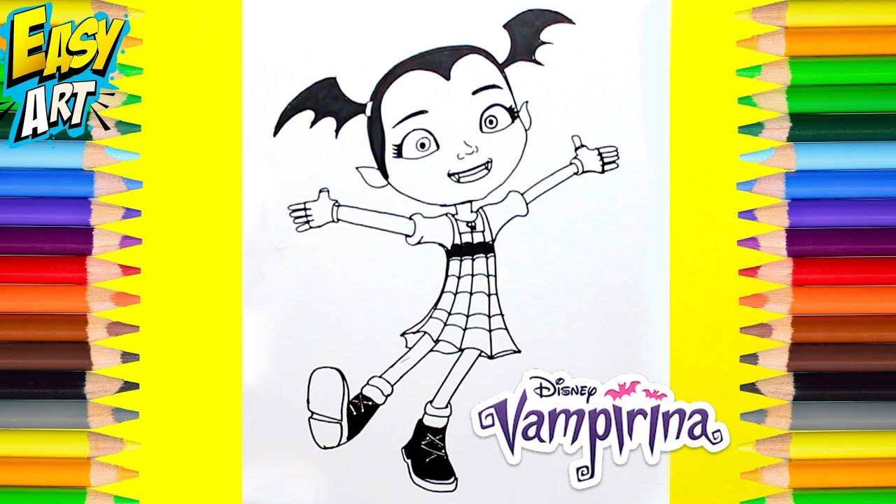 Dibujos Para Colorear Disney Para Y Dibujos Para Pintar: Dibujos Para Pintar Vampirina