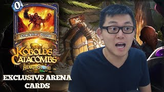 Arena EXCLUSIVE Cards Are Coming! Thanks Blizzard!