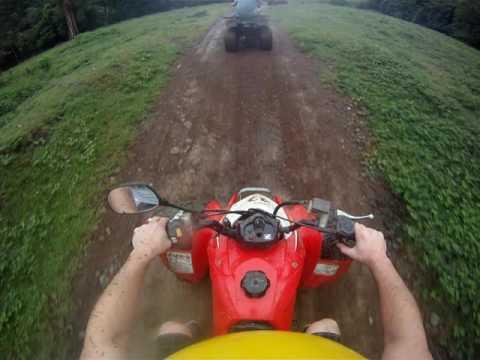 ATV adventure in Ocean Ranch Park in Jaco