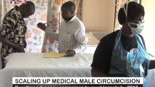 Repeat youtube video Voluntary Medical Male Circumcision Part 1 of 2