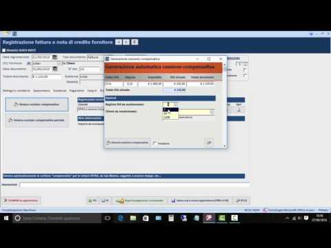 La registrazione di una fattura con il reverse charge