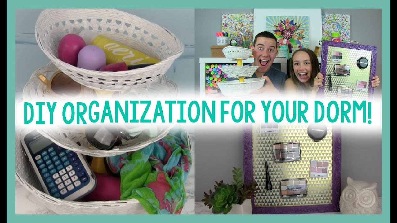 Great DIY ORGANIZATION FOR YOUR DORM | ROOM DECOR | DORM LIFE HACK Part 7