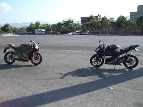 yamaha yzf r125 e derbi gpr 125 4t youtube. Black Bedroom Furniture Sets. Home Design Ideas